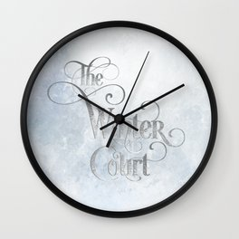 The Winter Court Wall Clock