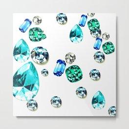 Bitch Gems Metal Print