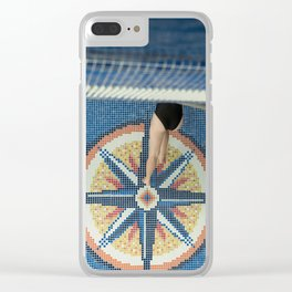 Upside Down Clear iPhone Case