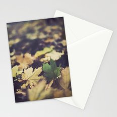 fall duet Stationery Cards