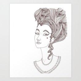 Lovely Art Print