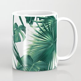 Tropical Jungle Leaves Dream #3 #tropical #decor #art #society6 Coffee Mug