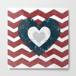 I Heart 'merica Metal Print