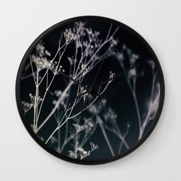 Growing in Silence Wall Clock