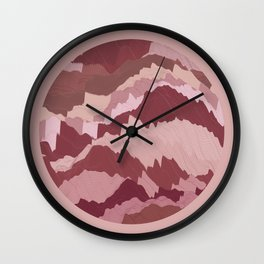 TOPOGRAPHY 007 Wall Clock