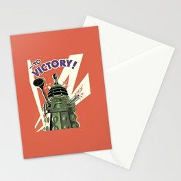 Daleks To Victory - Doctor Who Stationery Cards