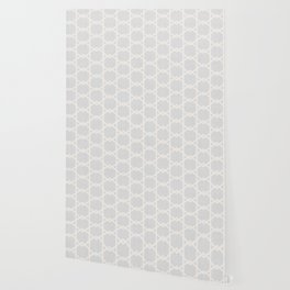 Interlock in Grey Wallpaper