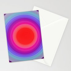 from cold to warm Stationery Cards