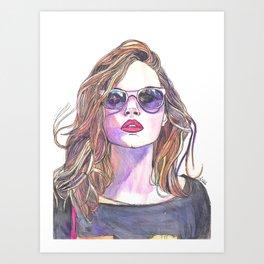 Cara RESERVED Art Print