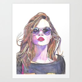 Cara RESERVED Art Print
