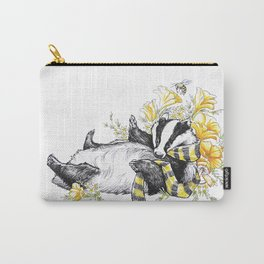 Happy Badger Carry-All Pouch