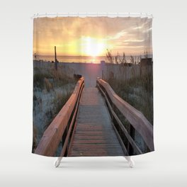 Good Morning Tybee Island Shower Curtain