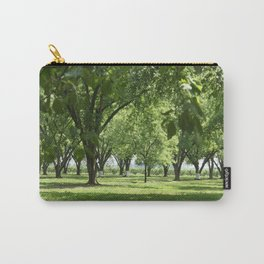 Peach and Pecan Orchard Carry-All Pouch