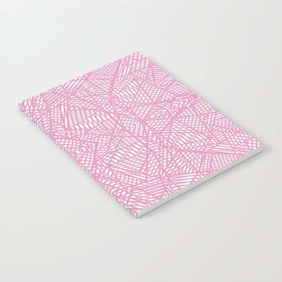 Ab Lace Pink Notebook