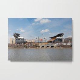 Heinz Field, Pittsburgh, Pennsylvania Metal Print