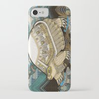 turtle iPhone & iPod Cases featuring Turtle by Yuliya