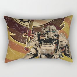 Fallout 3 - Brotherhood of Steel recruitment flyer Rectangular Pillow