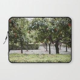 Granada Orange Tree Patio Laptop Sleeve
