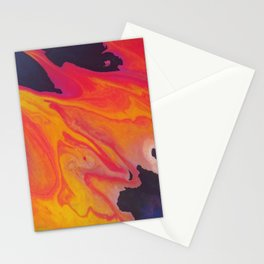 Fluid Abstract 11 Stationery Cards