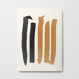 abstract minimal 54 Metal Print