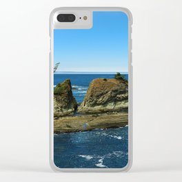 Coos Bay Clear iPhone Case