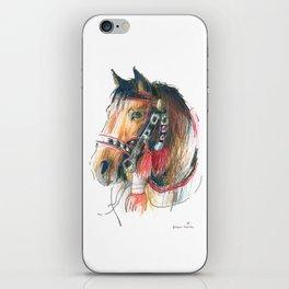 Horse Head (Drayhorse from Zakopane) iPhone Skin
