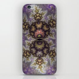 Magic in the air, fractal pattern abstract iPhone Skin