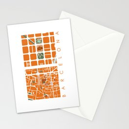 Fagmentos III Barcelona Stationery Cards