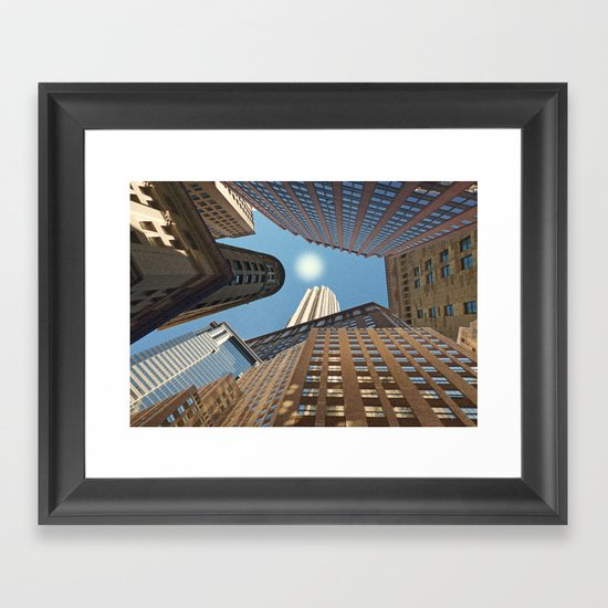 At its Zenith - New York Framed Art Print