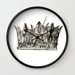 Crown I Wall Clock