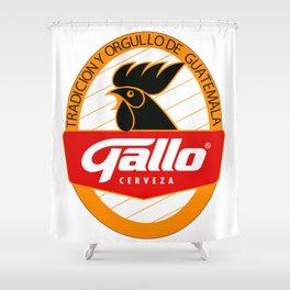 GALLO CERVEZA Shower Curtain
