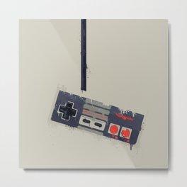 vintage NES Controller Metal Print