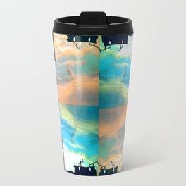 Ocean in the Sky Metal Travel Mug