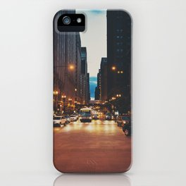 the streets of Chicago ... iPhone Case