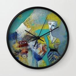 Girl Alone Wall Clock