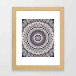 Mandala 275 Framed Art Print