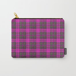 Vintage Lunchbox Design in Magenta Carry-All Pouch