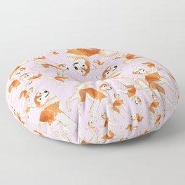 Akita Inu Floor Pillow