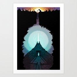 The Power Below Art Print