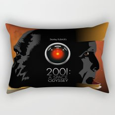 2001 - A space odyssey Rectangular Pillow