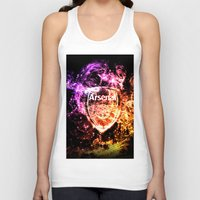 arsenal Tank Tops featuring ARSENAL by Acus