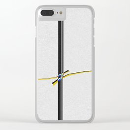 Space Time Clear iPhone Case