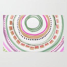 Circle Weaving Rug
