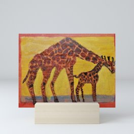 Giraffes Mini Art Print