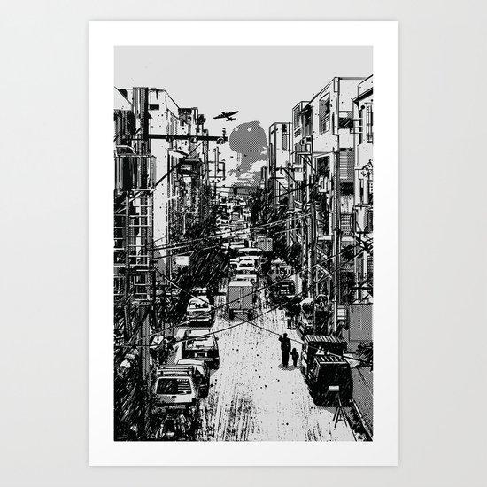 Something In Between Art Print