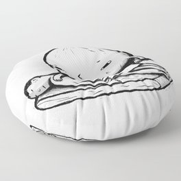 onion role reversal Floor Pillow