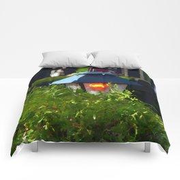 Lantern at Dusk Comforters