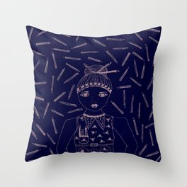 Can I 'PENCIL' you in for a date? Throw Pillow
