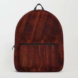 Beautiful Unique mahogany red wood veneer design Backpack