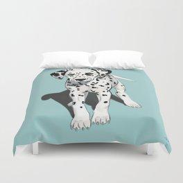 Dalmatian Puppy Duvet Cover